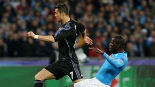 Cristiano Ronaldo and Kalidou Koulibaly
