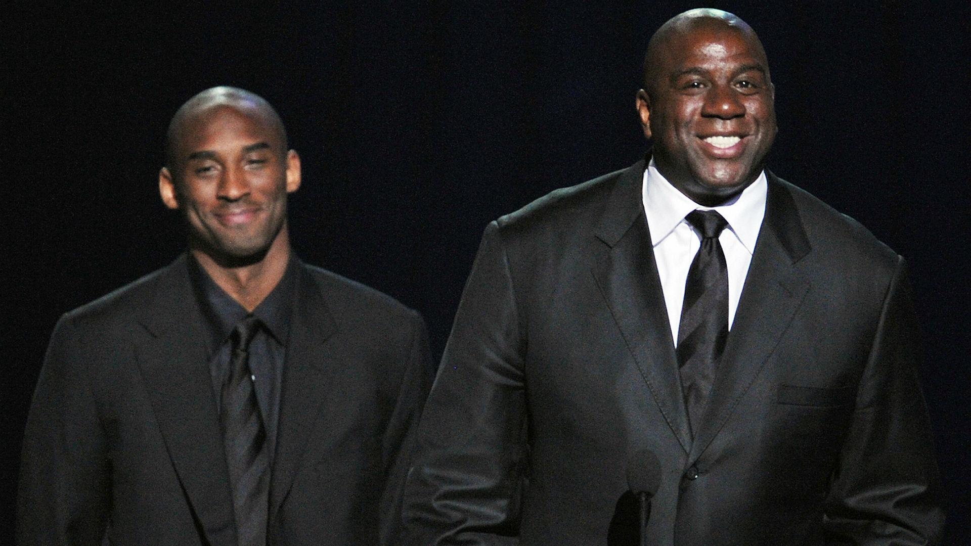 2f2ef63709ad Kobe Bryant praises Magic Johnson for signing LeBron