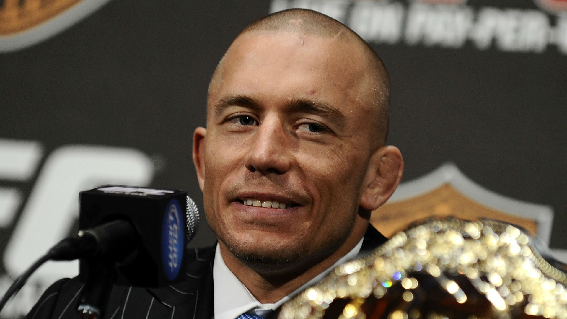 Dana White: Georges St-Pierre will be 'out for a minute' with colitis