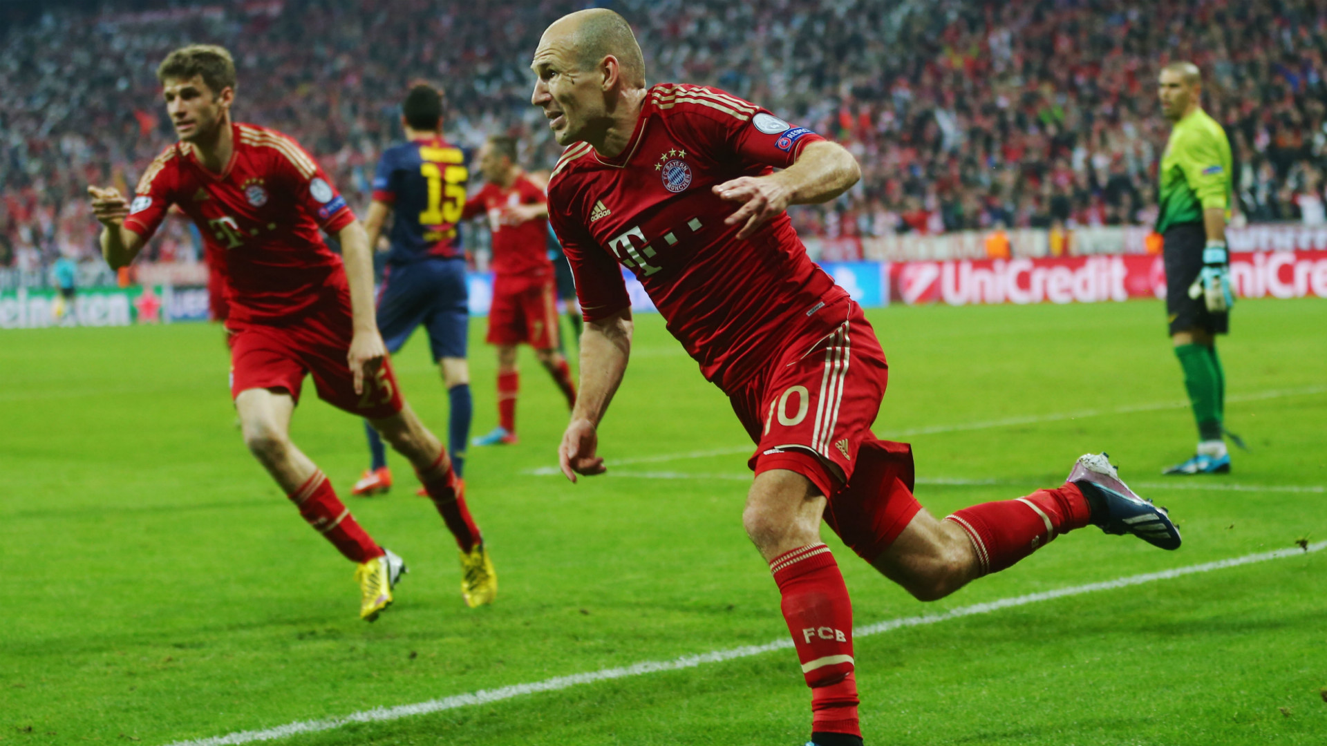 Bayern Munich 3-1 Hannover
