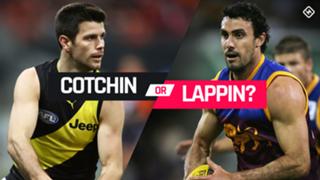 Cotchin v Lappin pick 2