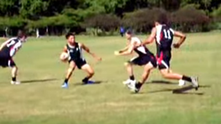 Shaun Johnson Touch Rugby