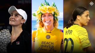Ash Barty Steph Gilmore Sam Kerr