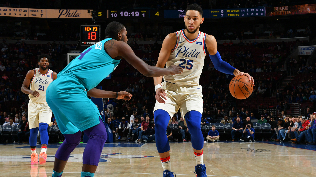 092db2e60bf1 Hornets  coach Steve Clifford On Ben Simmons   he reminds me of a young  LeBron