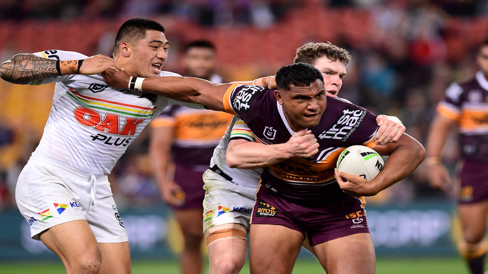 Broncos v Panthers: Legends slam decision to suspend Tevita Pangai Junior after alleged crusher tackle