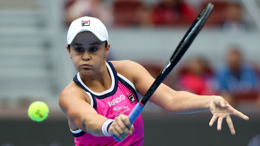 Ashleigh Barty edges Kiki Bertens in semi-final thriller at China Open
