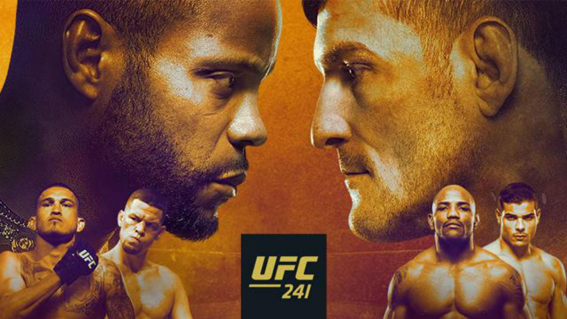 When is UFC 241 - Cormier vs M...