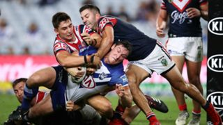 #roosters bulldogs