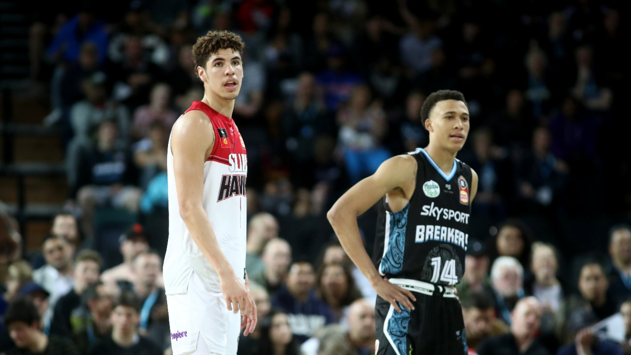 LaMelo Ball and R.J Hampton light up in Auckland, as Breakers claim stunning first win