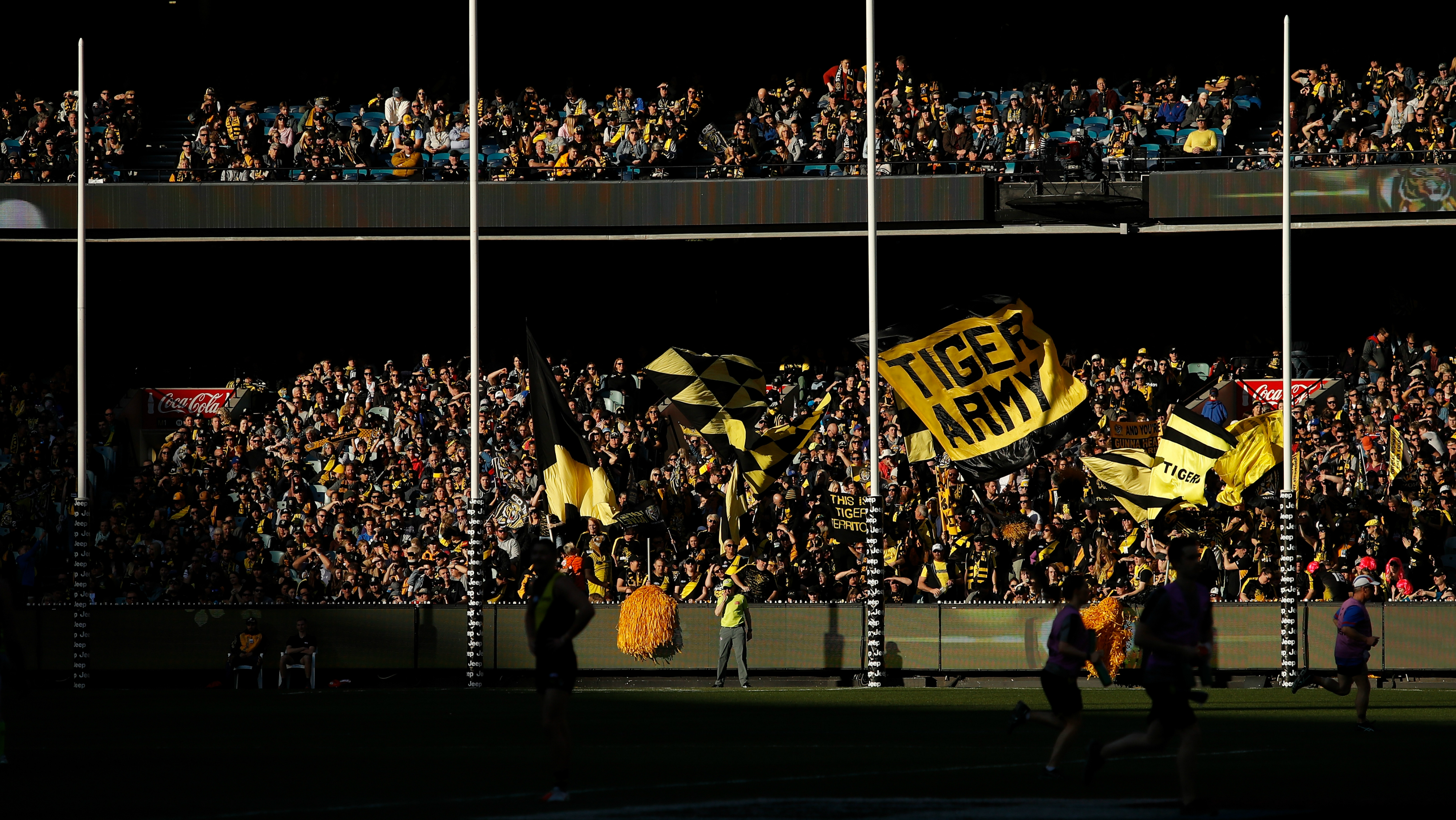 Undercover AFL spies monitoring crowd behaviour