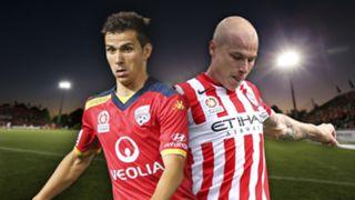 A-League.  Adelaide United v Melbourne City