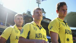 Aaron Finch David Warner Steve Smith
