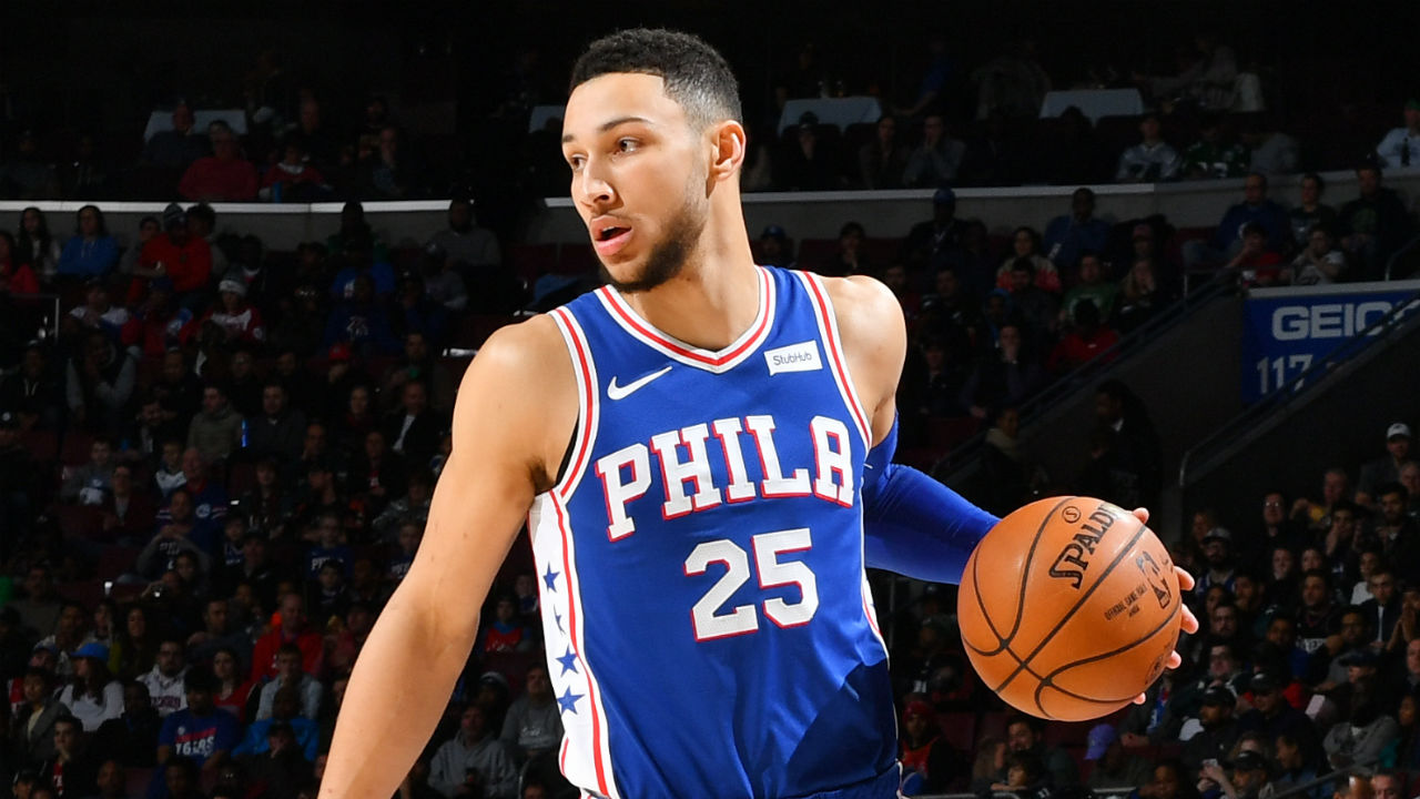 461a26d5ce74 NBA  How to watch Ben Simmons and the Philadelphia 76ers this week - TV  schedule