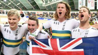 Men's team pursuit world champions