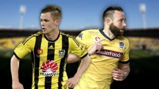 A-League.  Wellington Phoenix v Central Caost Mariners