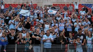 Cronulla Sharks fans