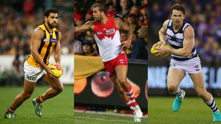 Cyril Rioli Patrick Dangerfield Lance Franklin