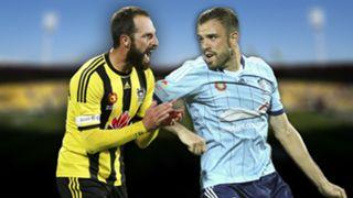 A-League.  Wellington Phoenix v Sydney FC