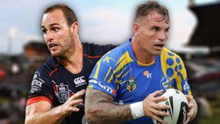 NRL.  Warriors v Eels