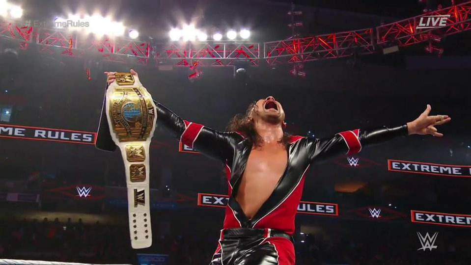WWE Extreme Rules: Shinuske Nakamura claims first Intercontinental Title with win over Finn Balor