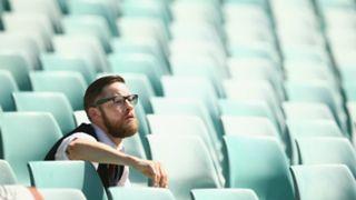 Empty Allianz Stadium