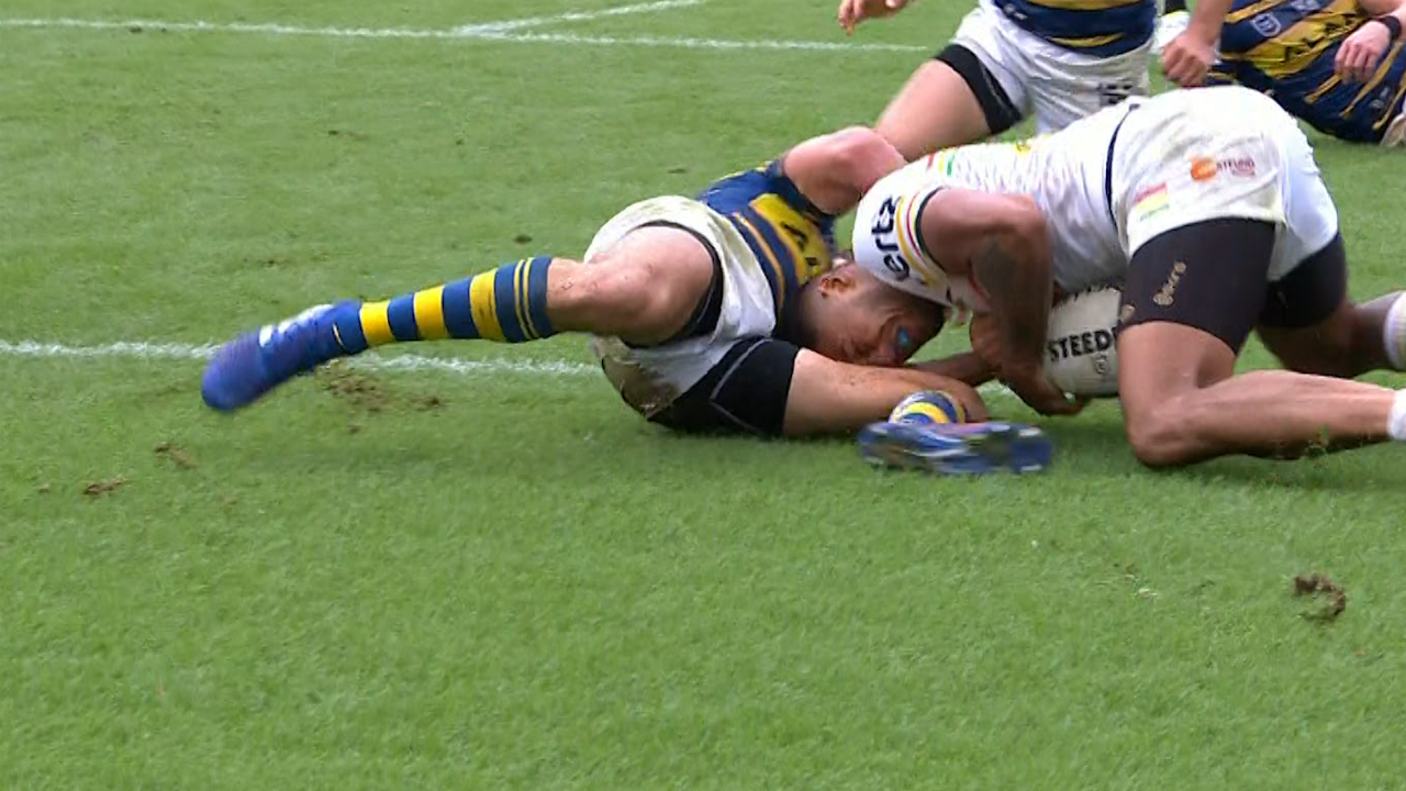 Penrith Panthers v Parramatta Eels: Mitchell Moses pulls off two incredible try-saving tackles