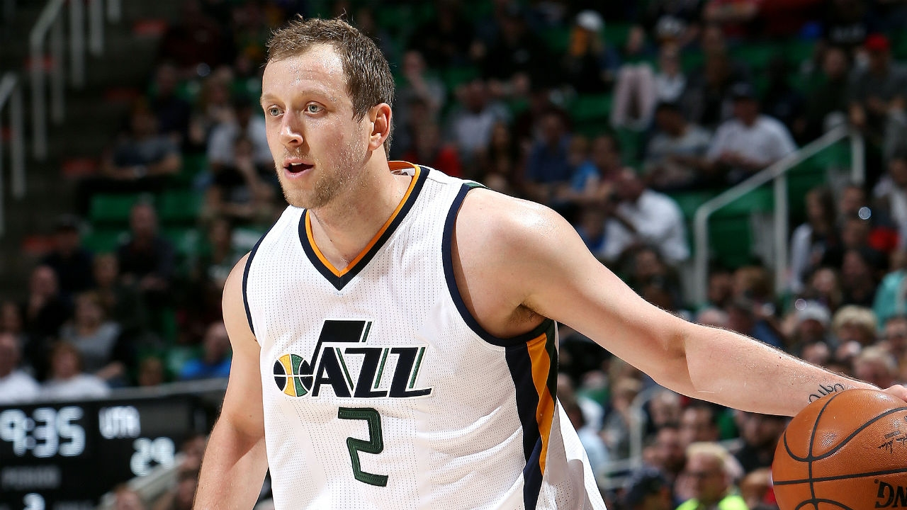 Image result for joe ingles jazz vs clippers