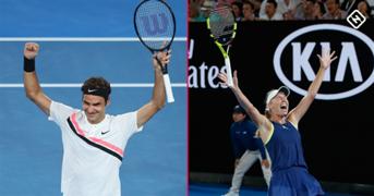 #Roger Federer #Caroline Wozniacki