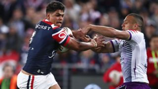 Latrell Mitchell and Will Chambers
