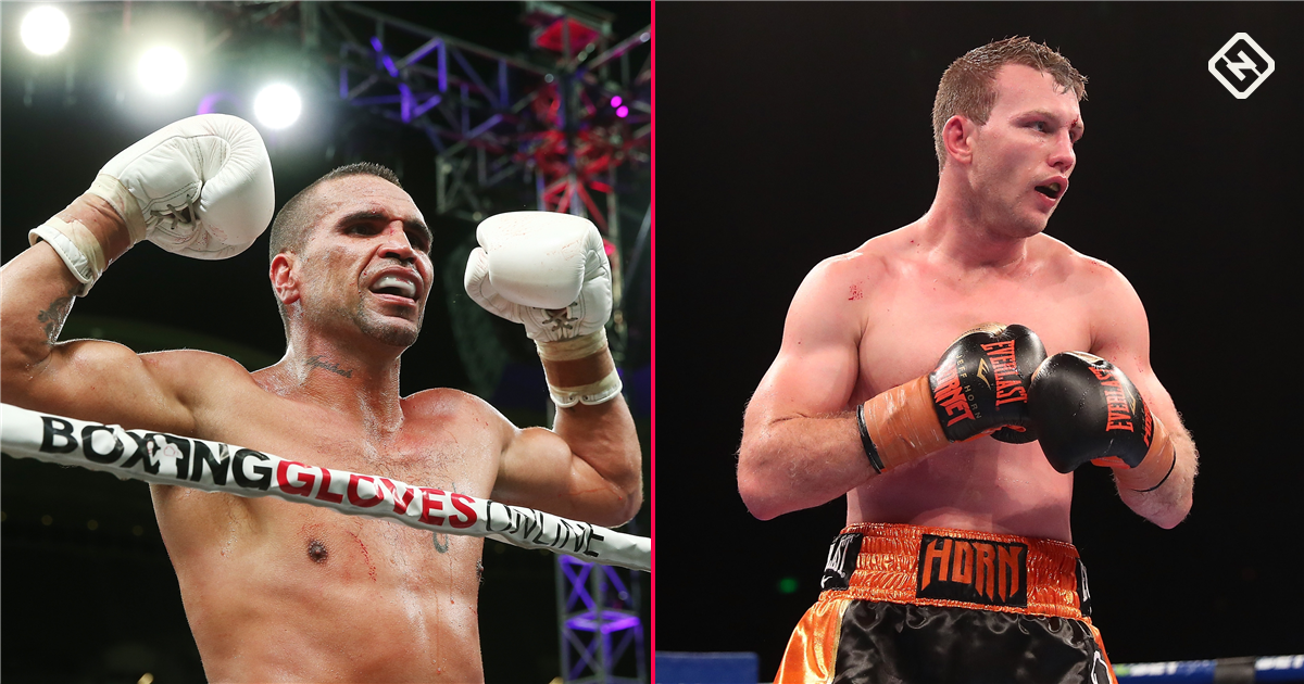 2b3392060ea Jeff Horn vs Anthony Mundine  Jeff Horn beats Anthony Mundine in first round  knockout