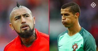 Vidal/Ronaldo split