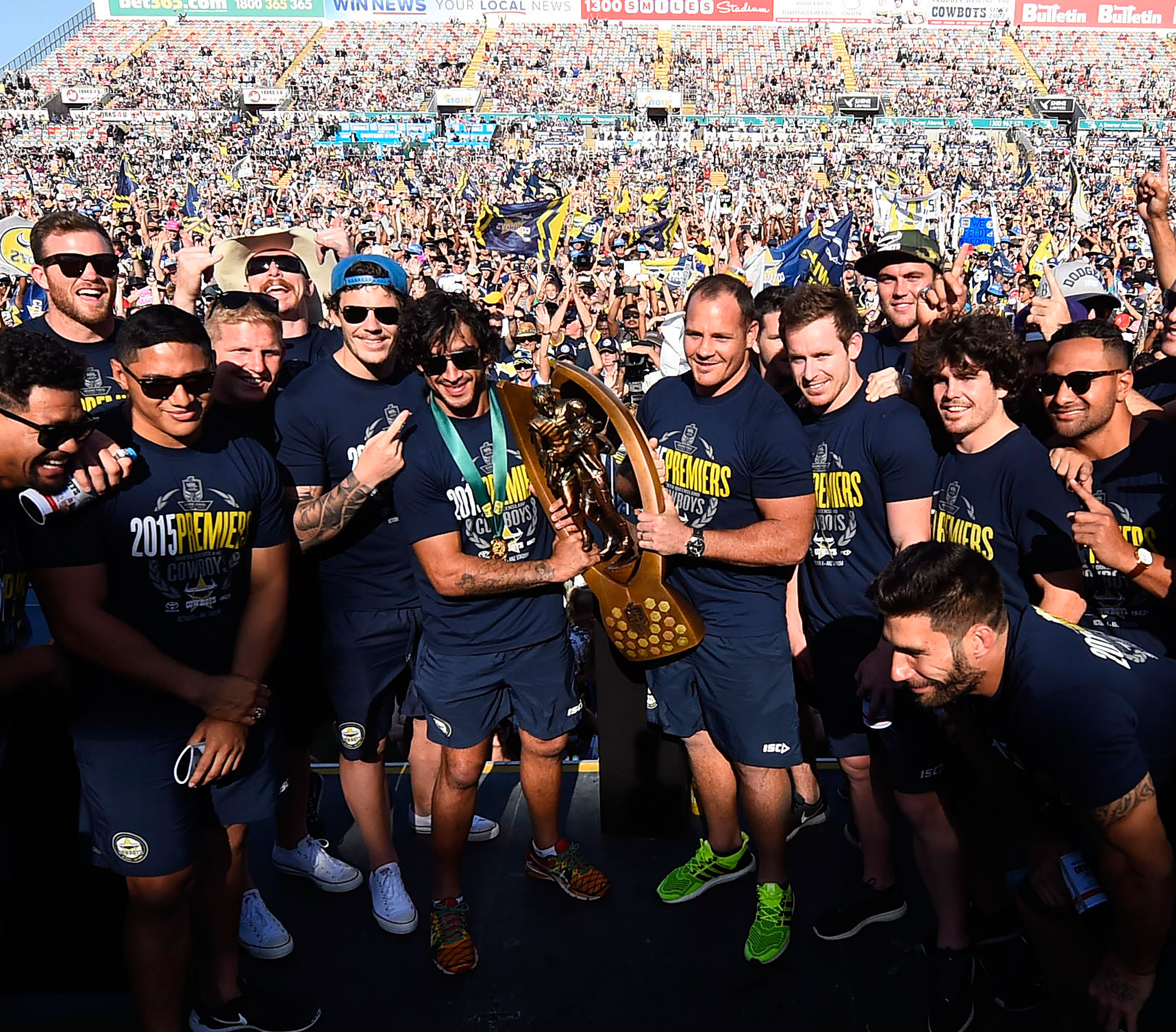 In Pictures: Cowboys Win Amazing 2015 Grand Final