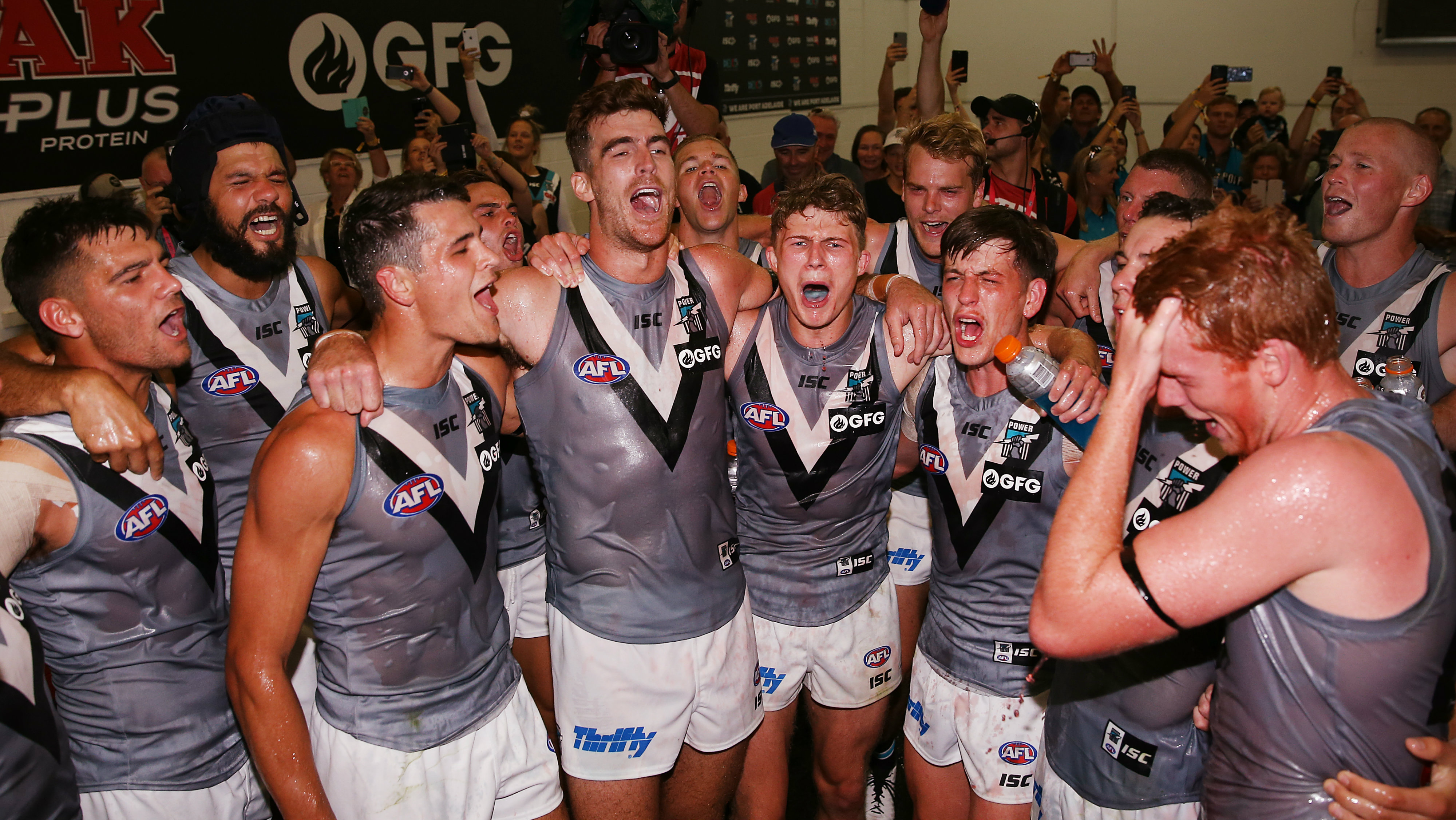 Port Adelaide's win over Melbourne the best in Ken Hinkley's time