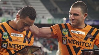 Benji Marshall and Robbie Farah