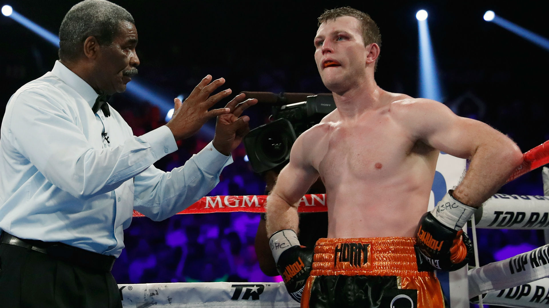 Jeff Horn vs Anthony Mundine: Jeff Horn looking to rebound from Terence Crawford defeat
