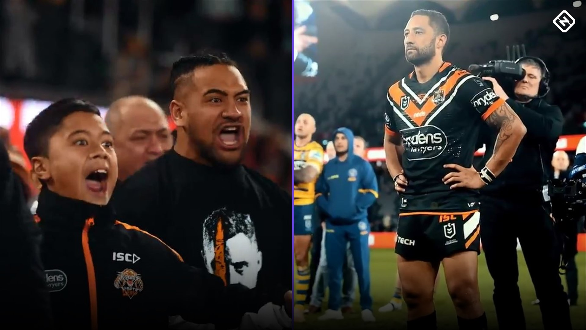 Benji Marshall: Wests Tigers favourite honoured with haka after 300th game