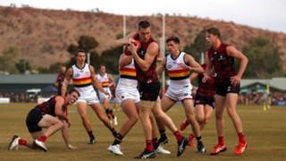 #Melbourne Demons Adelaide Crows Alice Springs