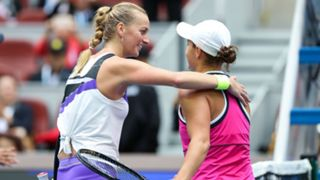 Petra Kvitova and Ash Barty