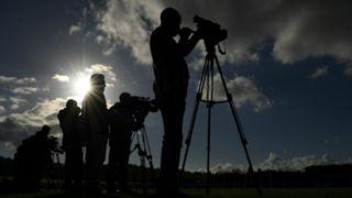 #reporters silhouette