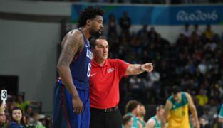 DeAndre Jordan & Coach K