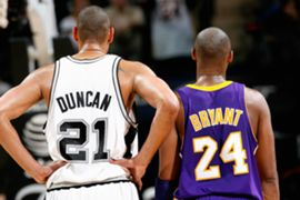 Kobe and Duncan through the years