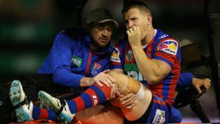 Slade Griffin knee injury