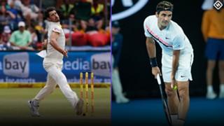 #Starc Federer