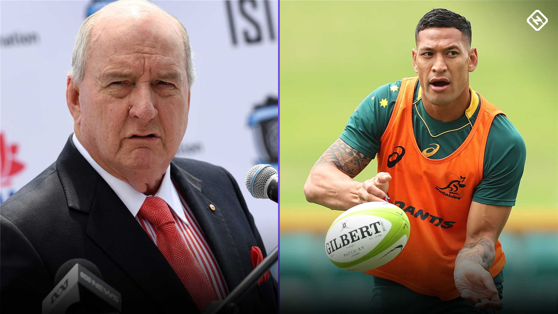 Alan Jones destroys 'incompetent' Rugby Australia over Israel Folau sacking