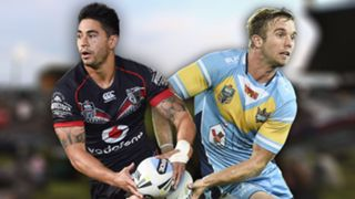 NRL. Warriors v Titans