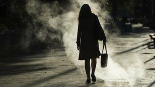 #Silhouette woman