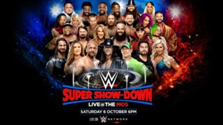 #wwe super show down