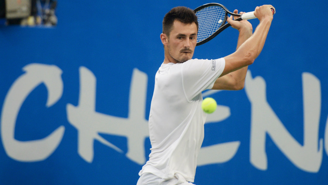 Bernard Tomic advances into first ATP final since 2016 after defeating Joao Sousa in straight ...