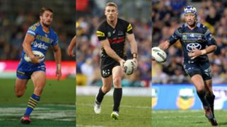 Kieran Foran Bryce Cartwright Johnathan Thurston