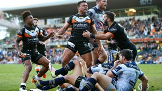 North Queensland Cowboys Wests Tigers